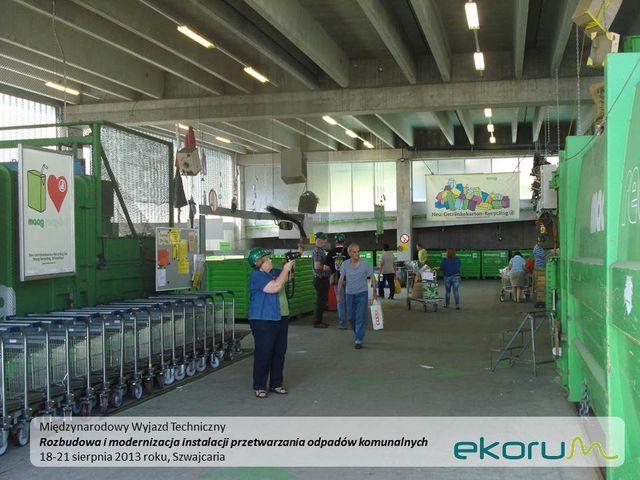 Międzynarodowy wyjazd techniczny<br><strong>Rozbudowa i modernizacja instalacji przetwarzania odpadów komunalnych</strong><br>18-21 sierpnia 2013<br>Poznań – Szwajcaria thumbnail