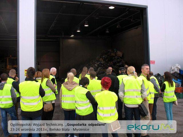 Ogólnopolski wyjazd techniczny<br><strong>Gospodarka odpadami</strong><br>24-25 września 2013<br>Bielsko – Biała – Myślenice thumbnail