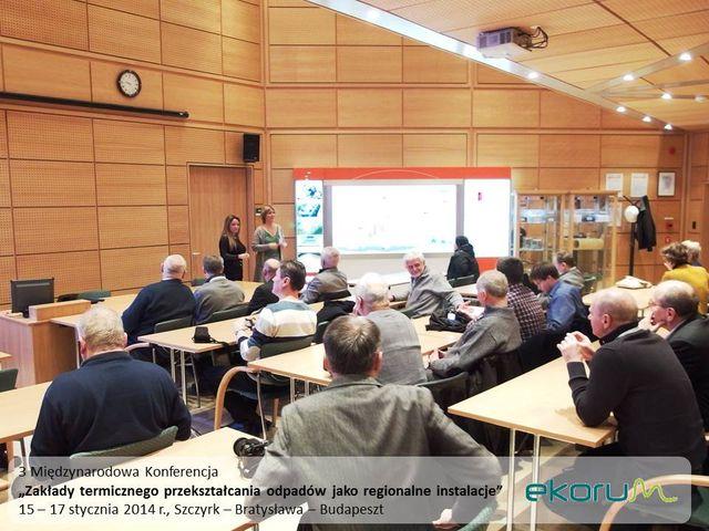 Międzynarodowy wyjazd techniczny<br><strong>ZTPOK jako regionalne instalacje</strong><br>16-17 stycznia 2014<br>Bratysława – Budapeszt thumbnail