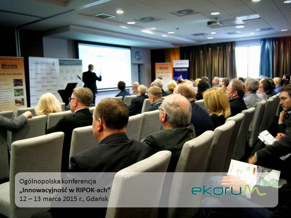 Ogólnopolska konferencja<br><strong>Innowacyjność w RIPOK-ach</strong><br>12-13 marca 2015<br>Gdańsk thumbnail