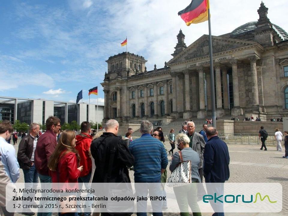 Międzynarodowy wyjazd techniczny<br><strong>Zakłady termicznego przekształcania odpadów jako RIPOK</strong><br>2 czerwca 2015<br>Berlin thumbnail