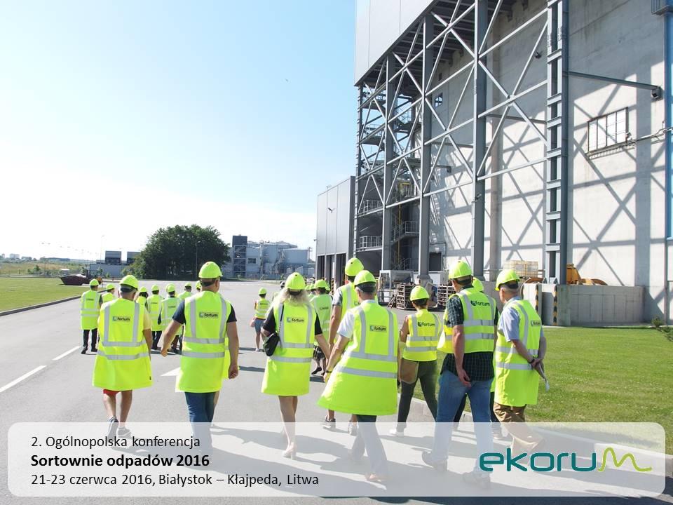 Międzynarodowy wyjazd techniczny<br><strong>Sortownie odpadów 2016</strong><br>22-23 czerwca 2016<br>Kłajpeda – Litwa thumbnail