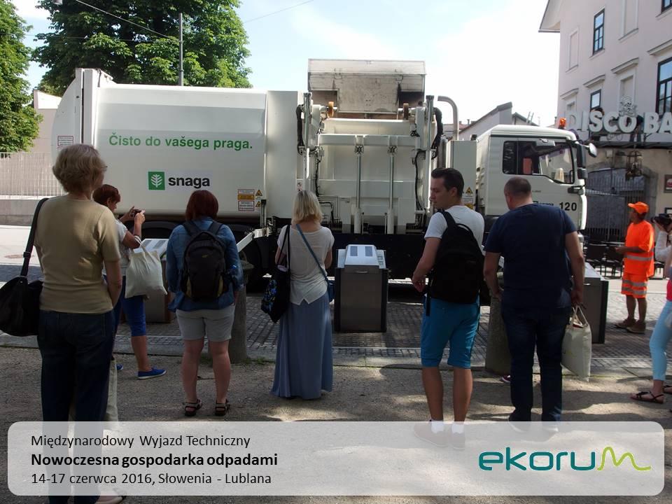 Międzynarodowy wyjazd techniczny<br><strong>Nowoczesna gospodarka odpadami</strong><br>14-17 czerwca 2016<br>Słowenia – Lublana thumbnail