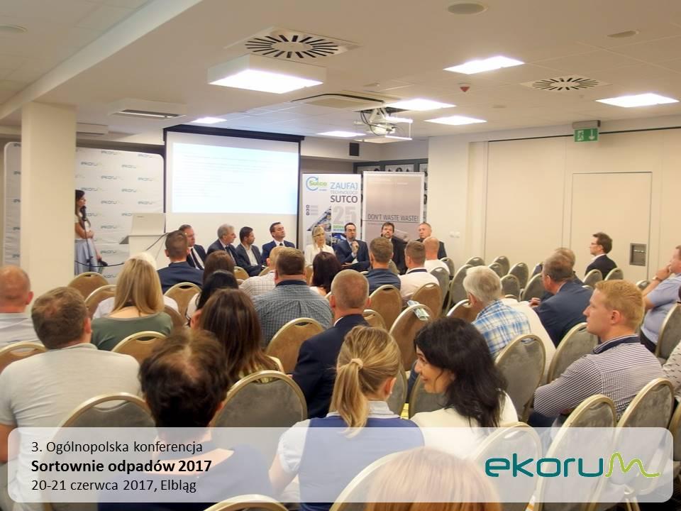 3. Ogólnopolska konferencja<br><strong>SORTOWNIE ODPADÓW 2017</strong><br>20-21 czerwca 2017<br>Elbląg thumbnail