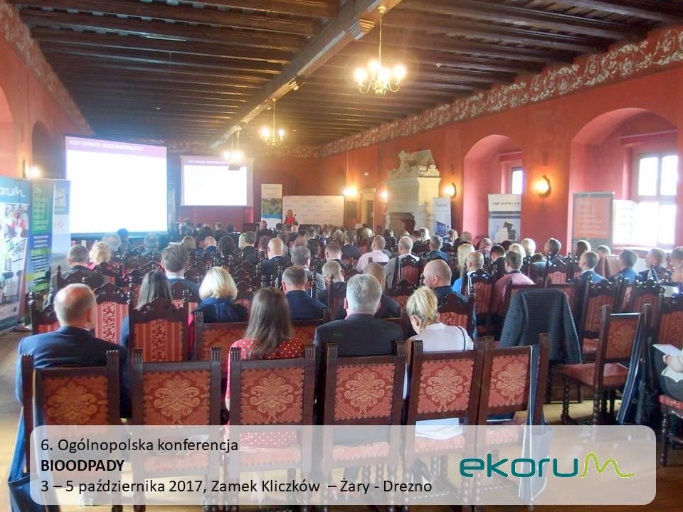 6. Ogólnopolska konferencja<br><strong>BIOODPADY 2017</strong><br>3-5 października 2017<br>Kliczków k. Bolesławca – Drezno thumbnail