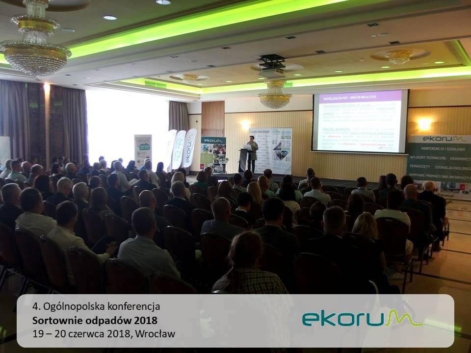 4. Ogólnopolska konferencja<br><strong>Sortownie odpadów</strong><br>19-20 czerwca 2018<br>Wrocław thumbnail