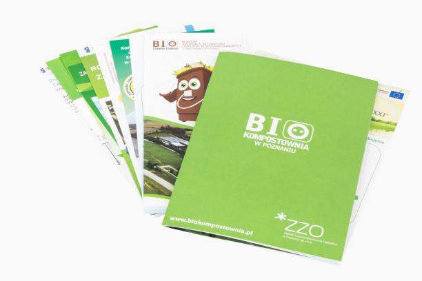 foldery, broszury, ulotki