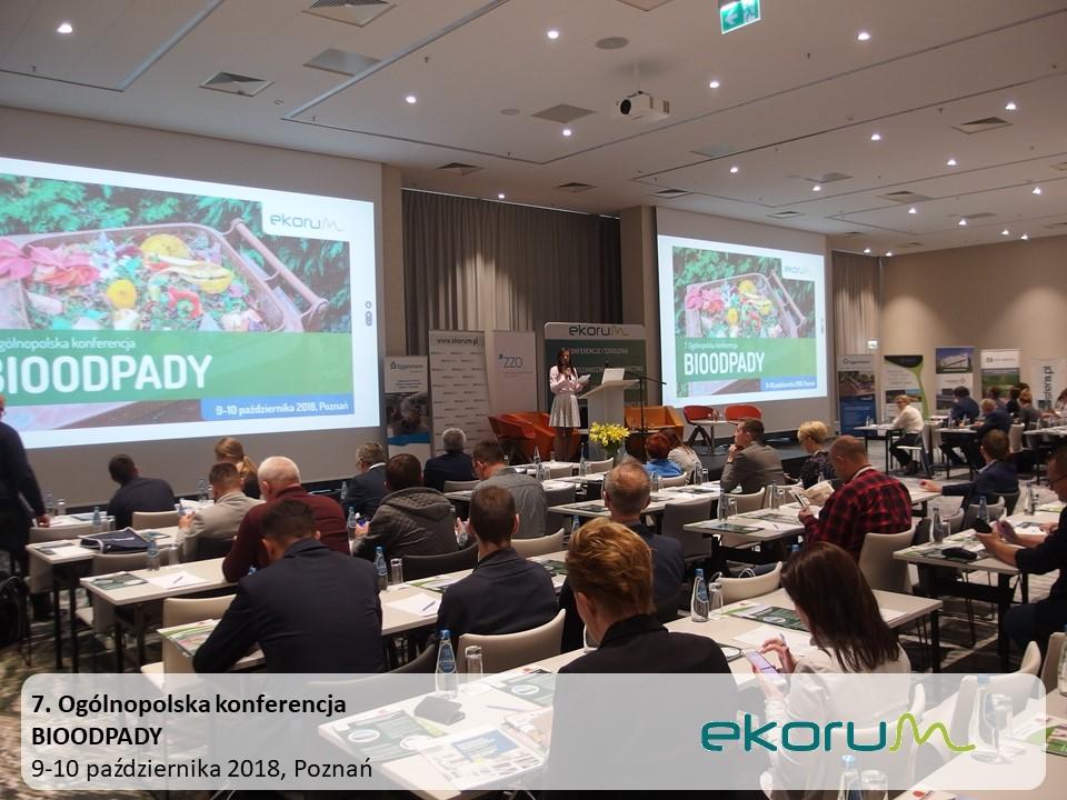7. Ogólnopolska konferencja<br><strong>BIOODPADY 2018</strong><br>9-10 października 2018<br>Poznań thumbnail