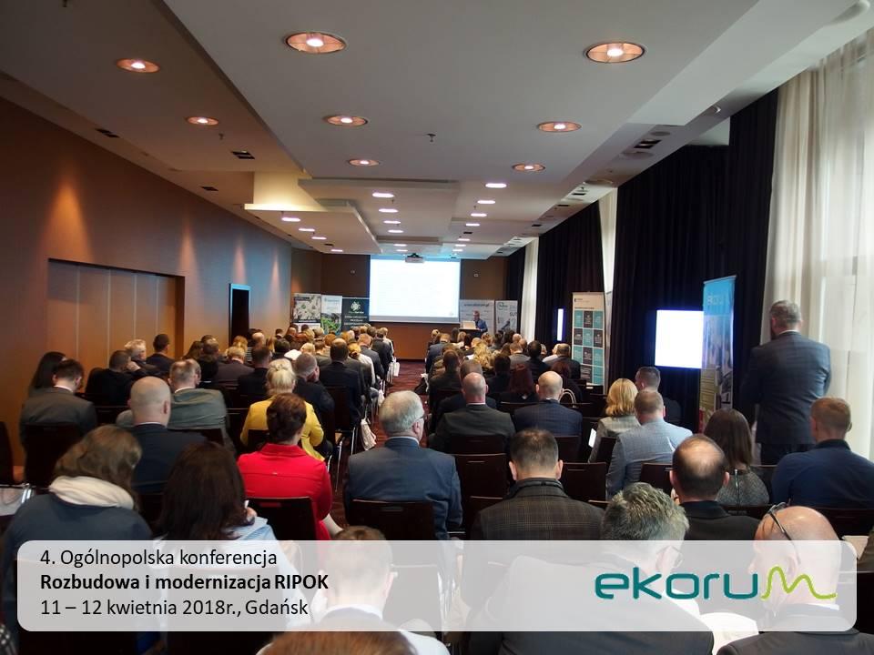 4. Ogólnopolska konferencja<br><strong>Rozbudowa i modernizacja RIPOK</strong><br>11-12 kwietnia 2018<br>Gdańsk thumbnail