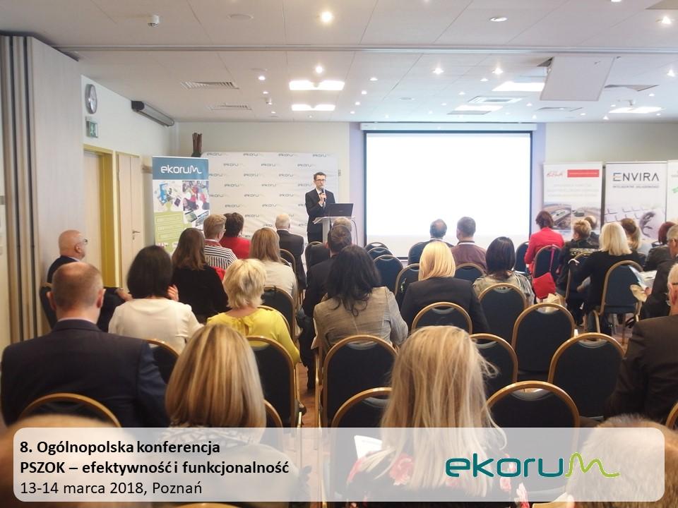 8. Ogólnopolska konferencja<br><strong>PSZOK – efektywność i funkcjonalność</strong><br>13-14 marca 2018<br>Poznań thumbnail