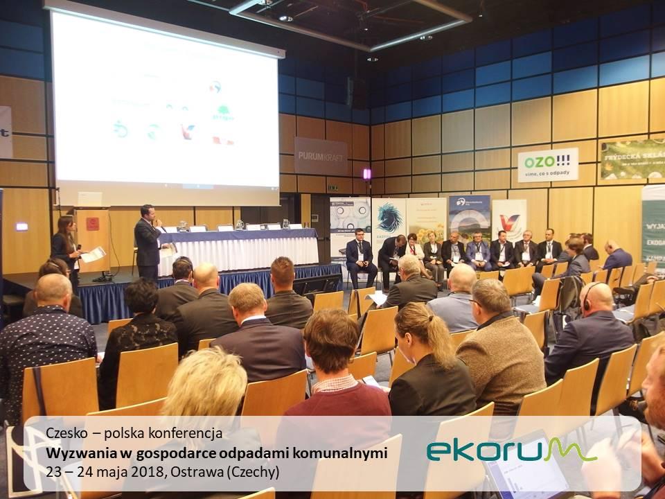 Czesko-polska konferencja<br><strong>Wyzwania w gospodarce odpadami komunalnymi</strong><br>23-24 maja 2018<br>Ostrawa thumbnail