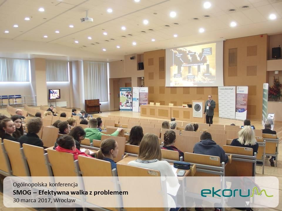 Ogólnopolska konferencja<br><strong>SMOG – Efektywna walka z problemem</strong><br>30 marca 2017<br>Wrocław thumbnail