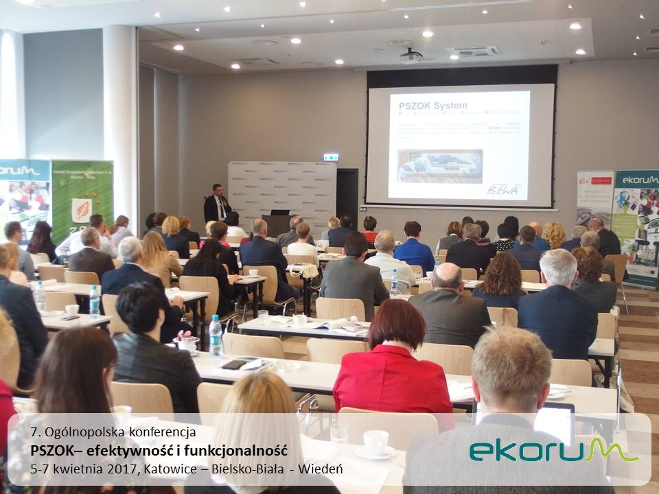 7. Ogólnopolska konferencja<br><strong>PSZOK – efektywność i funkcjonalność</strong><br>5-7 kwietnia 2017<br>Katowice Bielsko-Biała – Wiedeń thumbnail