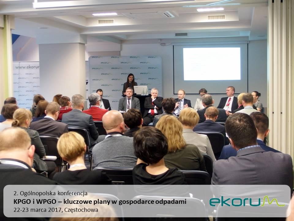 2. Ogólnopolska konferencja<br><strong>KPGO i WPGO – kluczowe plany w gospodarce odpadami</strong><br>22-23 marca 2017<br>Częstochowa thumbnail