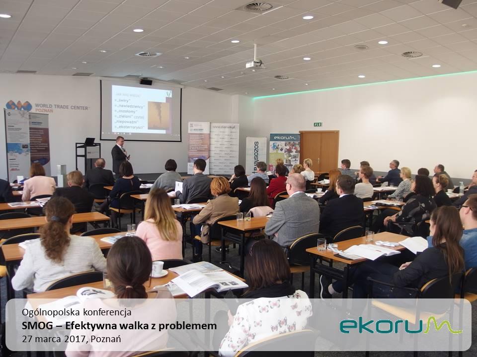 Ogólnopolska konferencja<br><strong>SMOG – Efektywna walka z problemem</strong><br>27 marca 2017<br>Poznań thumbnail