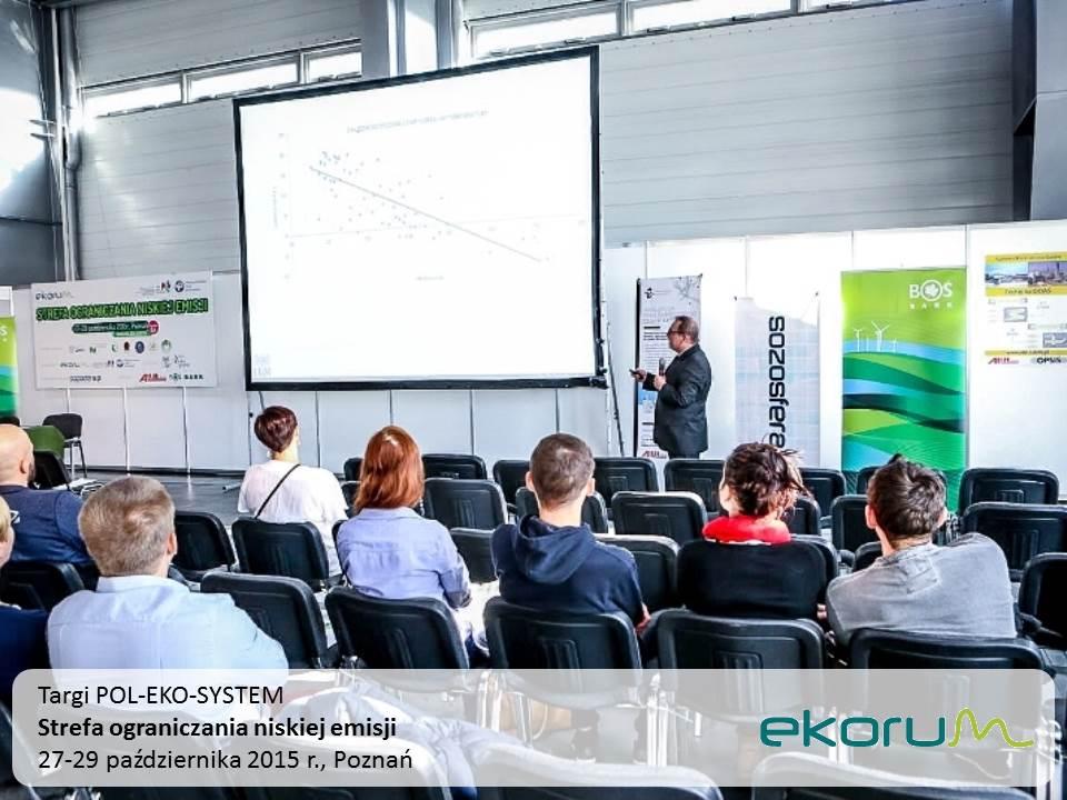 Targi POL-ECO-SYSTEM<br><strong>Strefa ograniczania niskiej emisji</strong><br>27-29 października 2015<br>Poznań thumbnail