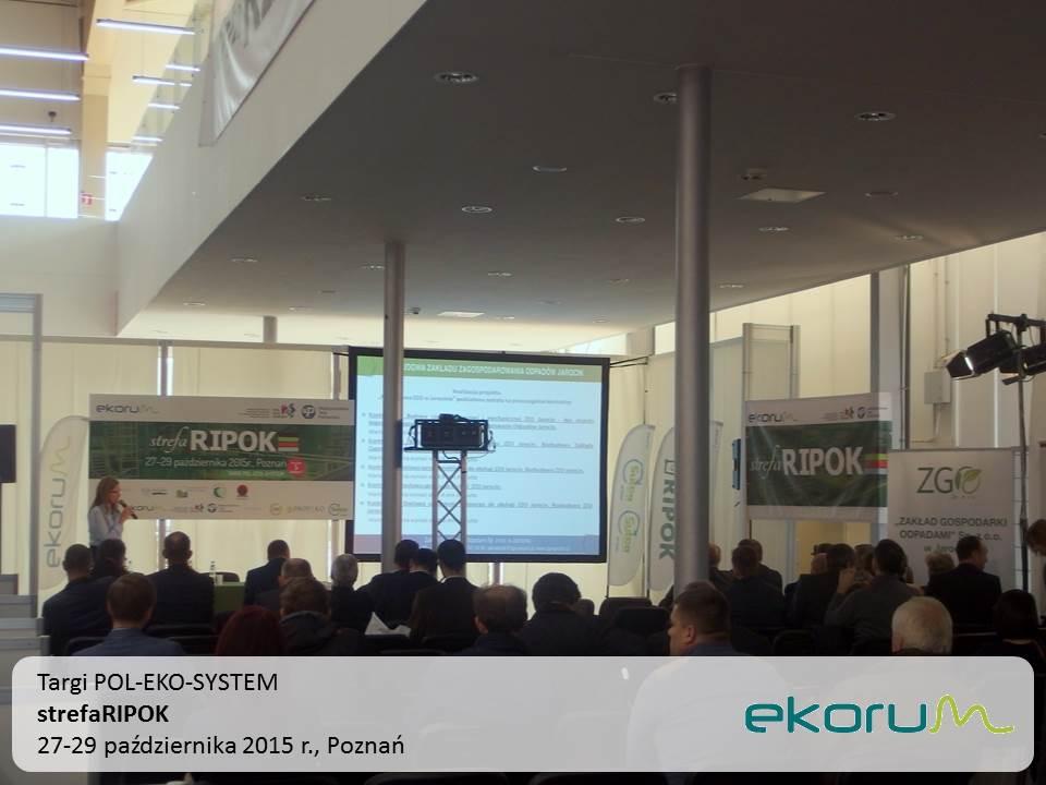 Targi POL-EKO-SYSTEM <br><strong>strefaRIPOK</strong><br>27-29 października 2015<br>Poznań thumbnail