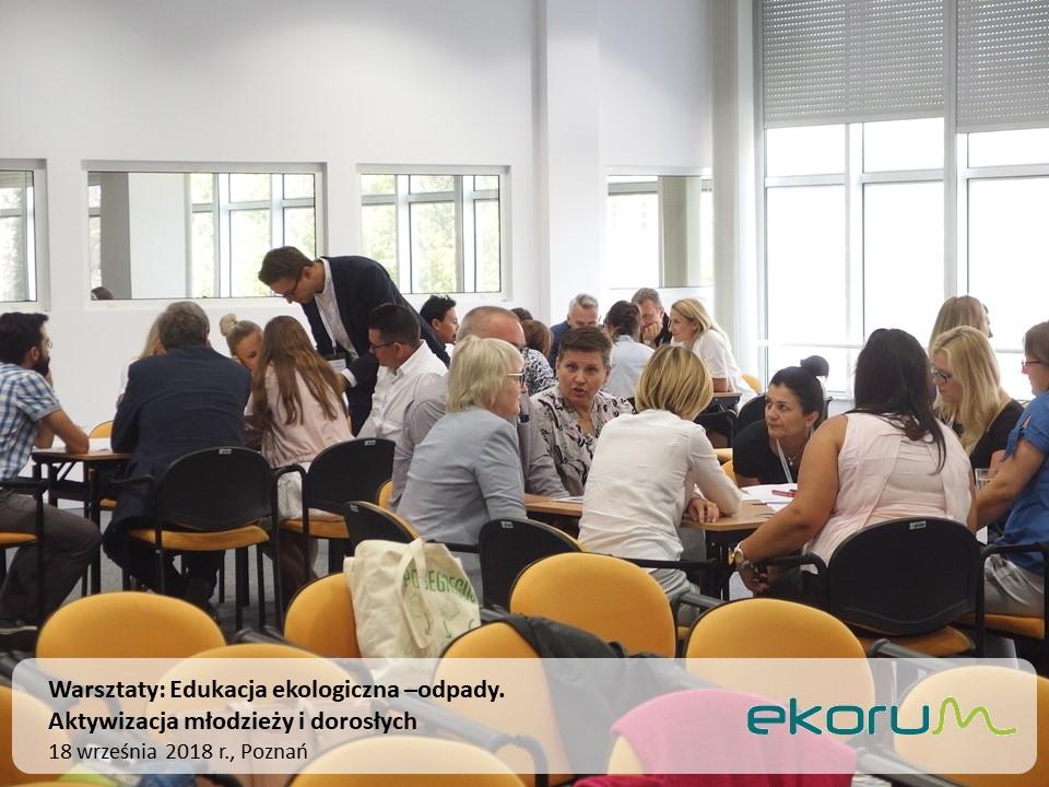 Warsztaty szkoleniowe<br><strong>Edukacja ekologiczna – odpady</strong><br>18 września 2018<br>Poznań thumbnail