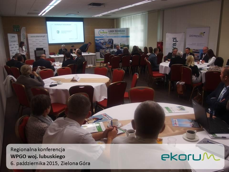 Regionalna konferencja<br><strong>WPGO woj. lubuskiego</strong><br>6 października 2015<br>Zielona Góra thumbnail