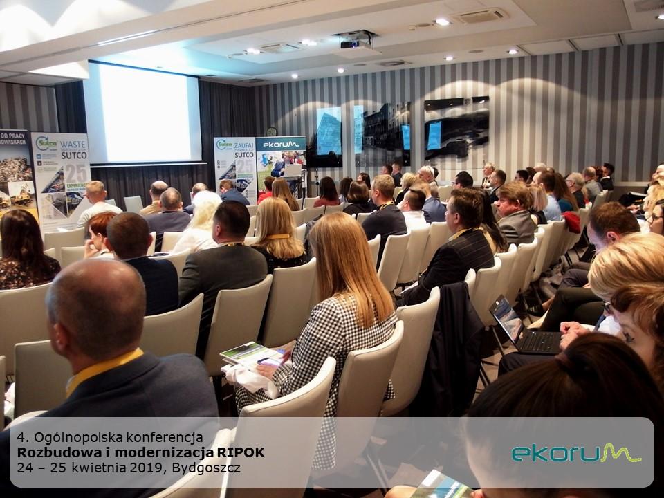 5. Ogólnopolska konferencja <br><strong>Rozbudowa i modernizacja RIPOK</strong><br>24-25 kwietnia 2019 <br>Bydgoszcz thumbnail