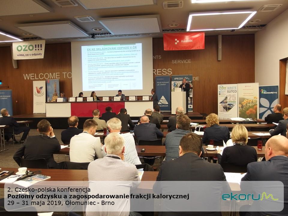 2. Czesko-polska konferencja<br><strong>Poziomy odzysku a zagospodarowanie frakcji kalorycznej</strong><br>29-31 maja 2019<br>Ołomuniec-Brno-Kraków thumbnail