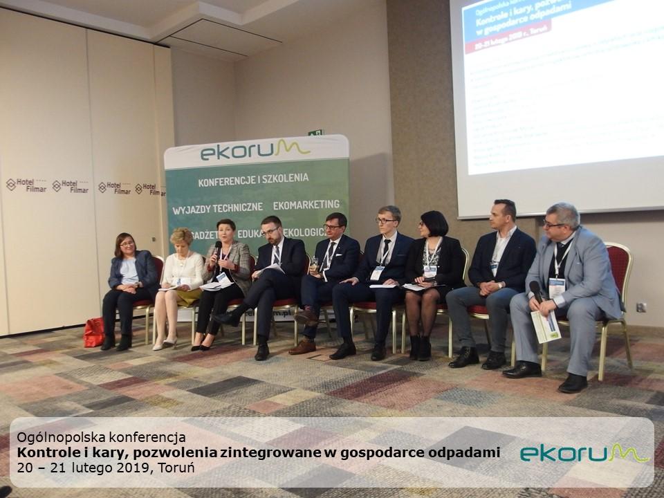 Ogólnopolska konferencja<br><strong>Kontrole i kary, pozwolenia zintegrowane w gospodarce odpadami</strong><br>20-21 lutego 2019<br>Toruń thumbnail