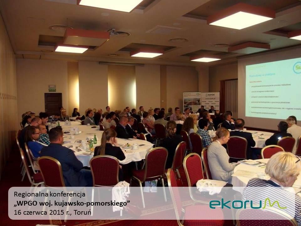 Regionalna konferencja<br><strong>WPGO woj. kujawsko-pomorskiego</strong><br>6 czerwca 2015<br>Toruń thumbnail