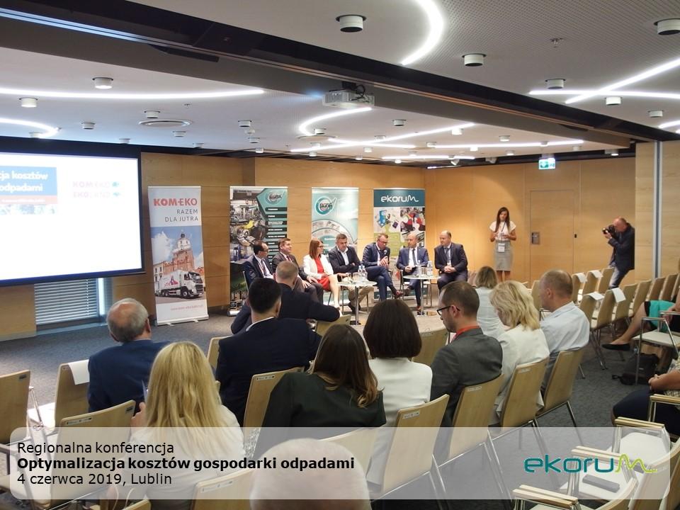 Regionalna konferencja<br><strong>Optymalizacja kosztów gospodarki odpadami </strong><br>4 czerwca 2019<br>Lublin thumbnail