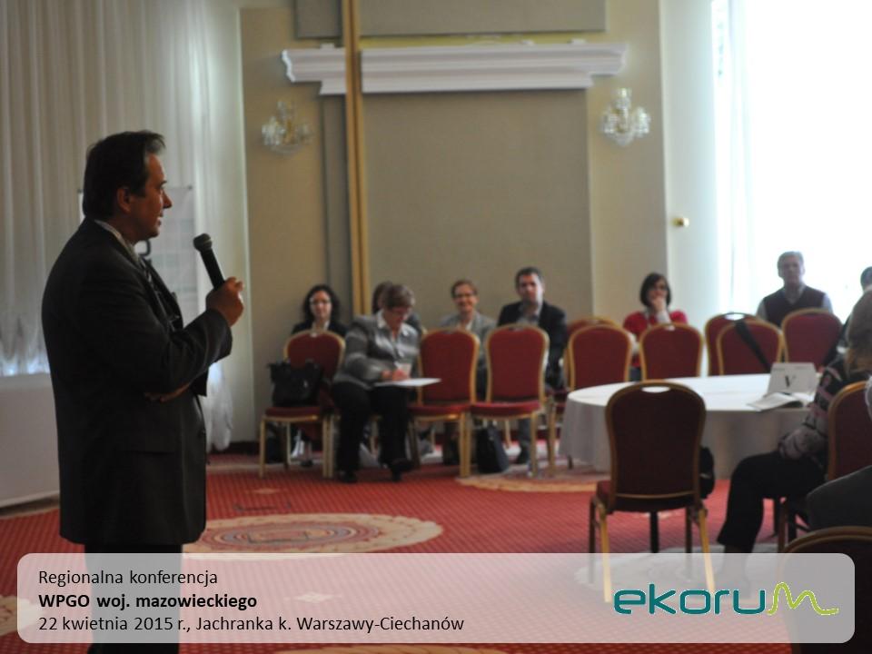 Regionalna Konferencja<br><strong>WPGO woj. mazowieckiego</strong><br>22 kwietnia 2015<br>Jachranka k. Warszawy-Ciechanów thumbnail