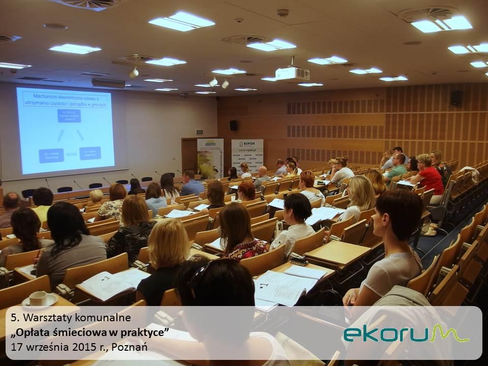 Warsztaty<br><strong>Opłata śmieciowa w praktyce</strong><br>17 września 2015<br>Poznań thumbnail