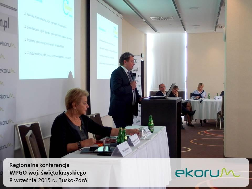 Regionalna konferencja<br><strong>WPGO woj. świętokrzyskiego</strong><br>8 września 2015<br>Busko-Zdrój thumbnail