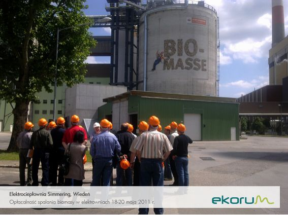 Międzynarodowy wyjazd techniczny<br><strong>Opłacalność spalania biomasy w elektrowniach</strong><br>18-20 maja 2011<br>Austria thumbnail