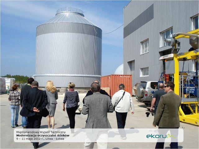 Międzynarodowy wyjazd techniczny<br><strong>Modernizacja oczyszczalni ścieków</strong><br>9-11 maja 2012<br>Litwa-Łotwa thumbnail