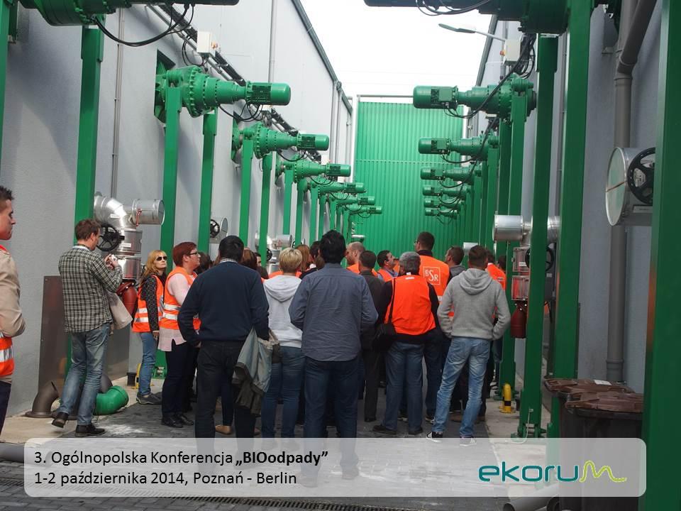 Międzynarodowy wyjazd techniczny<br><strong>Instalacje przetwarzania bioodpadów</strong><br>2 października 2014<br>Berlin thumbnail
