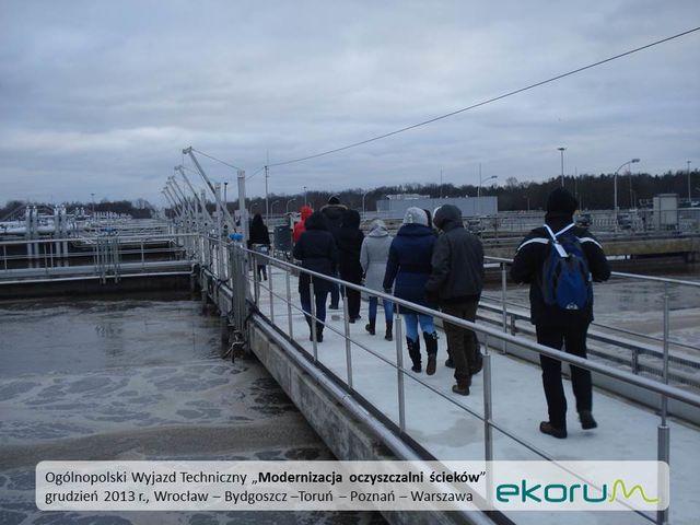 Ogólnopolski wyjazd techniczny<br><strong>Modernizacja oczyszczalni ścieków</strong><br>grudzień 2013<br>Poznań, Warszawa, Bydgoszcz – Toruń thumbnail