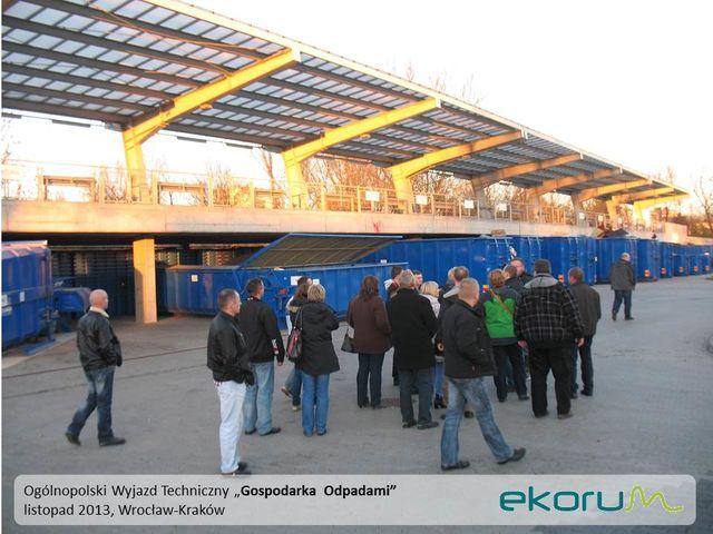 Wyjazd techniczny<br><strong>Gospodarka odpadami</strong><br>8-10 listopada 2013<br>Poznań – Wrocław – Kraków thumbnail