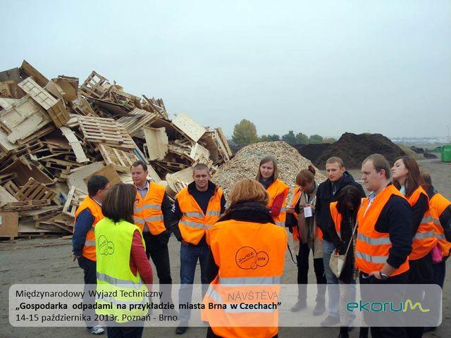 Międzynarodowy wyjazd techniczny<br><strong>Gospodarka odpadami na przykładzie miasta Brna</strong><br>14-15 października 2013<br>Poznań – Brno thumbnail