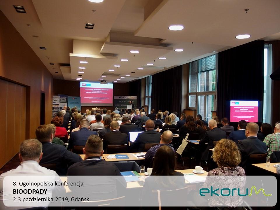8. Ogólnopolska konferencja<br><strong>BIOODPADY</strong><br>2-3 października 2019<br>Gdańsk thumbnail