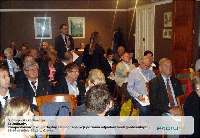 Ogólnopolska konferencja<br> <strong>Bioodpady</strong> <br>13-14 września 2012<br>Gliwice thumbnail