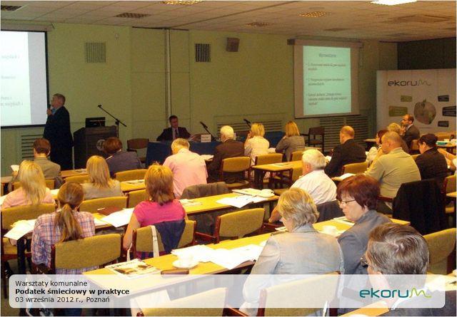 Ogólnopolska konferencja<br> <strong>Podatek śmieciowy w praktyce</strong> <br>3 września 2012<br>Poznań thumbnail