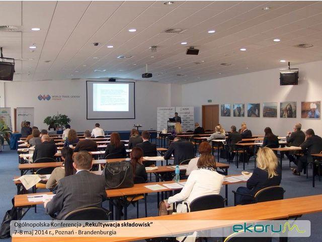 Ogólnopolska Konferencja<br><strong>Rekultywacja składowisk</strong><br>7-8 maja 2014r<br>Poznań – Brandenburgia thumbnail