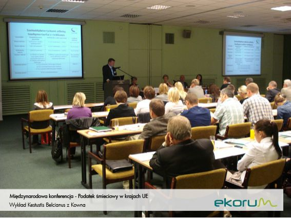 Międzynarodowa konferencja <br> <strong>Podatek śmieciowy w krajach UE</strong> <br>5 września 2011 <br>Poznań thumbnail