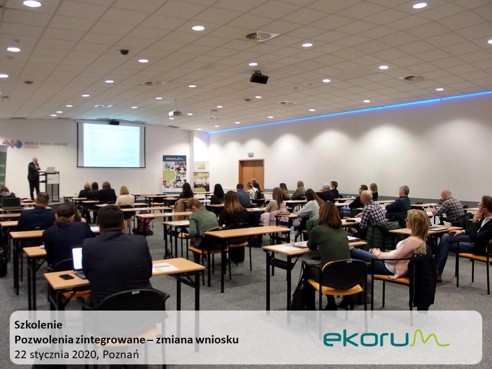 Szkolenie<br><strong>Pozwolenia zintegrowane – zmiana wniosku</strong><br> 22 stycznia 2020 <br> Poznań thumbnail