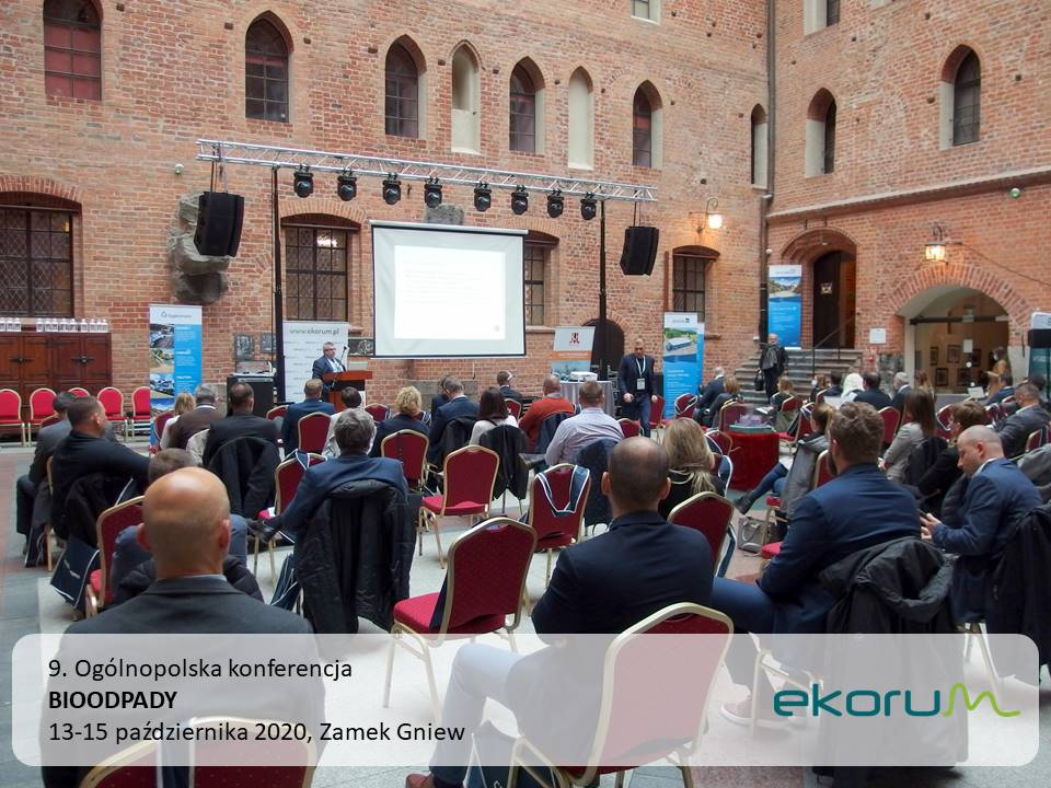 9. Ogólnopolska konferencja <br> <strong> BIOODPADY</strong> <br> 13-15 października 2020 <br> Zamek Gniew thumbnail