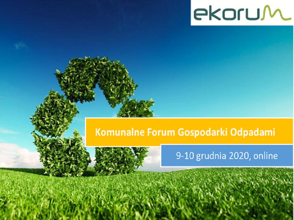 Webinarium <br> <strong> Komunalne Forum Gospodarki Odpadami</strong> <br> 9-10 grudnia 2020 thumbnail